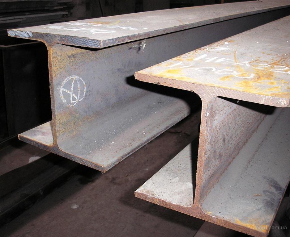Балка стальная двутавровая - фото
