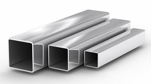 Алюминиевая профильная труба - фото