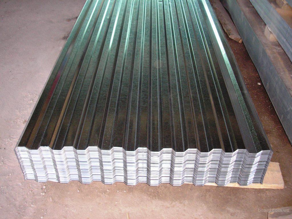 Профнастил стальной - фото