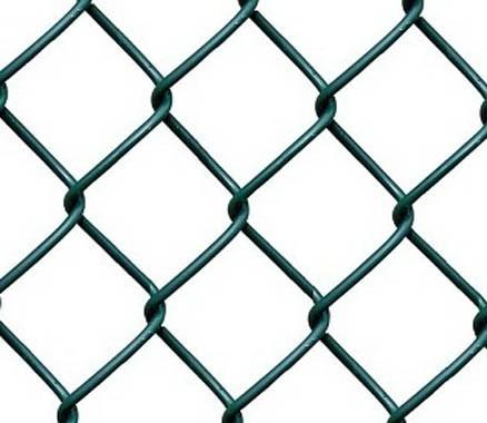 Сетка рабица с полимерным покрытием - фото