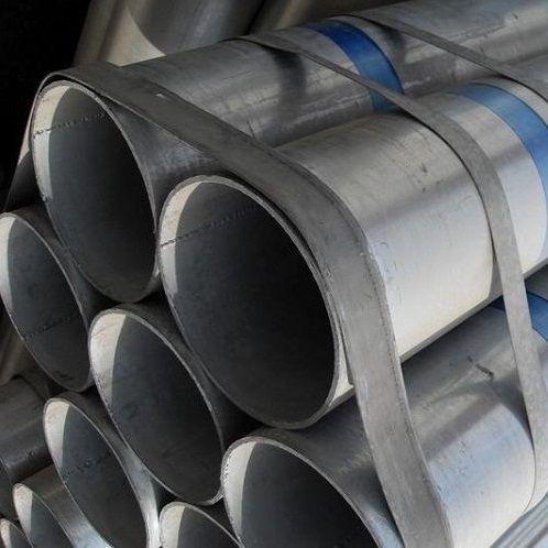 Трубы стальные оцинкованные - фото